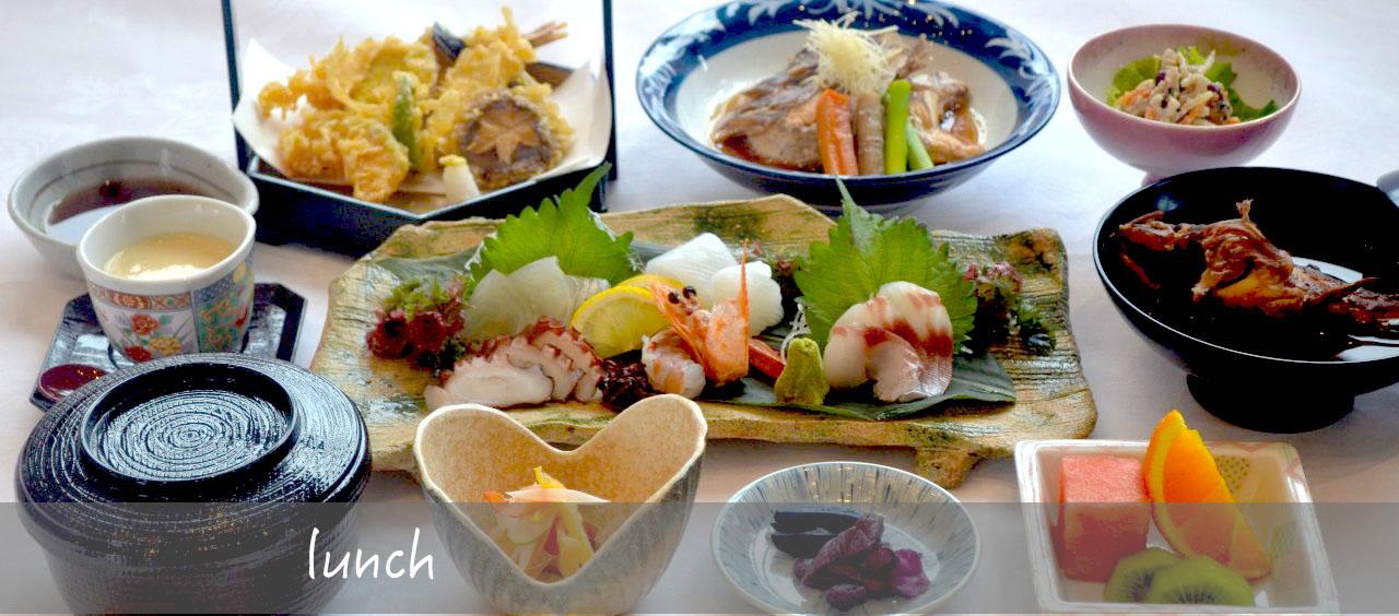 お昼のランチ(2月29日より提供を休止)